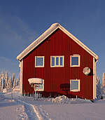 Great Lappland Ferienhaus Winter © Great Lappland